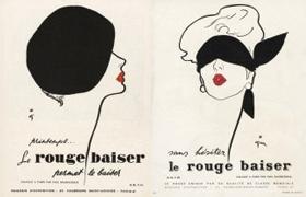 Premier post-test de publicité pour Rouge Baiser de Lancôme