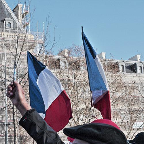 drapeau français république
