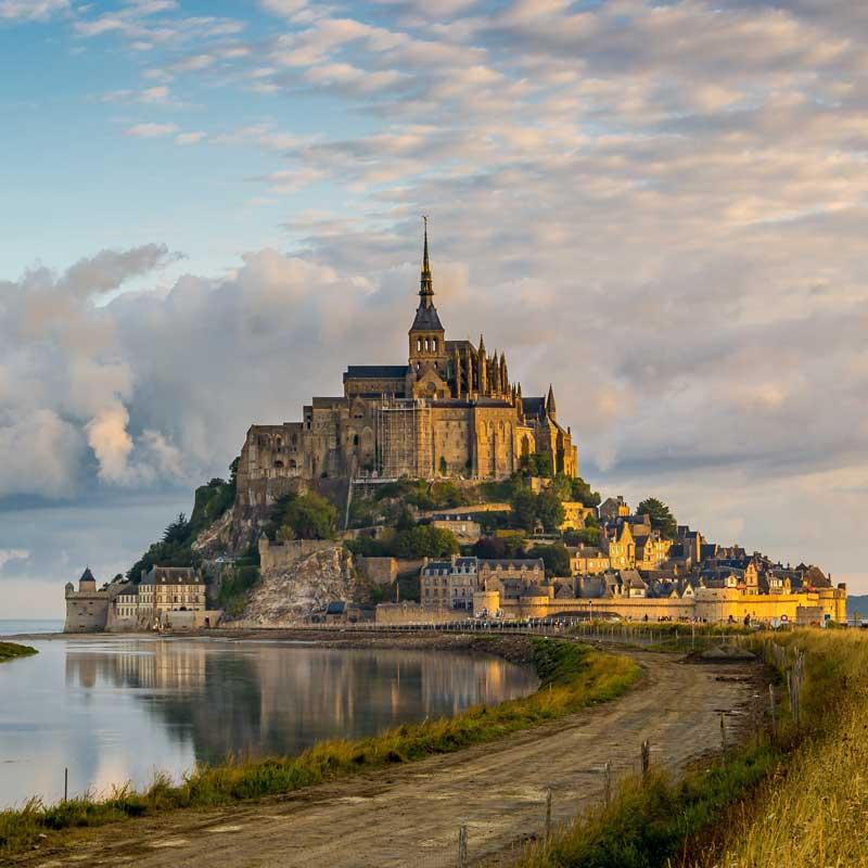 Mont Saint-Michel en Normandie