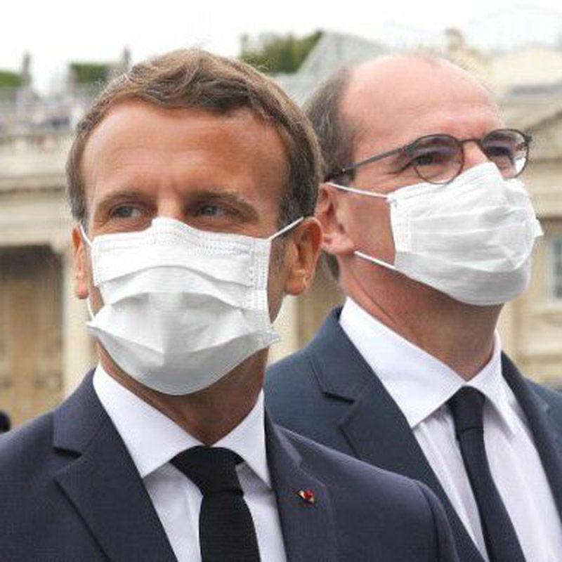 Emmanuel Macron Jean Castex