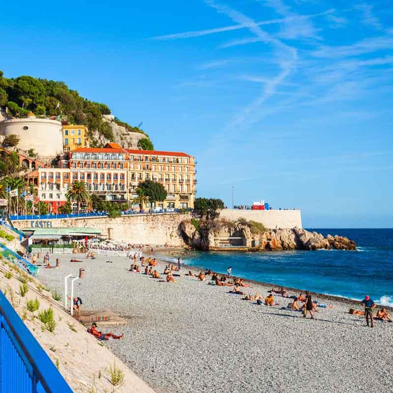 Nice en Provence-Alpes-Côte-d'Azur